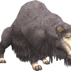 A karakul in <i>Final Fantasy XI</i>.