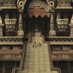 Tomb of Raithwall's entrance.