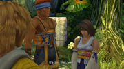 Yuna wants Tidus