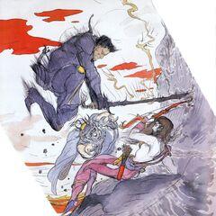 Maria atacada por Leon.