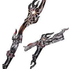 The Omega Weapon in <i>Dissidia 012 Final Fantasy</i>.