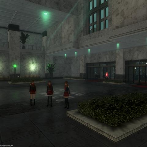 The reception hall.