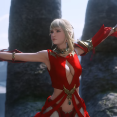 In <i>Stormblood</i> opening.
