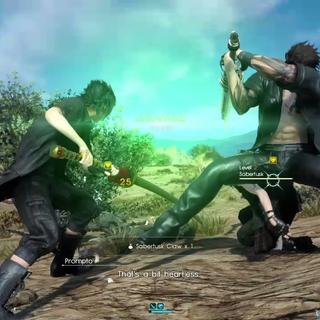 Link-strike with Gladiolus.
