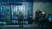 Kingsglaive Base weapon vending machine from FFXVRE