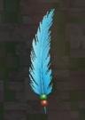 LRFFXIII Blue Feather Pin