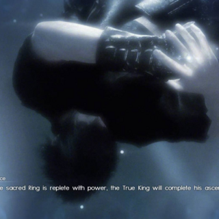 Lunafreya's vision of the prophecy's fulfillment.