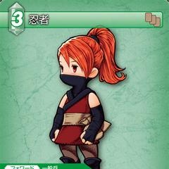 Ninja trading card (Wind).