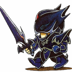 The original version of Dark Knight Cecil's SD art.