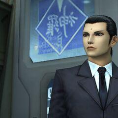 Первая встреча с Ценгом в <i>Crisis Core -Final Fantasy VII-</i>.