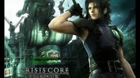 A Flower Blooming In The Slums - Final Fantasy VII Crisis Core