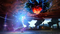 Black Mage Limit Break Meteor XIV
