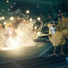 <i>Moogle Bomb</i> from <i>Final Fantasy VII Remake</i>.