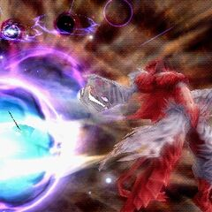 Ultima in Kuja's EX Burst in <i><a href=