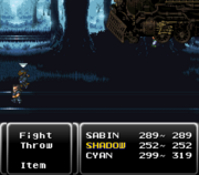 FF6 Phantom Train Meteor Strike