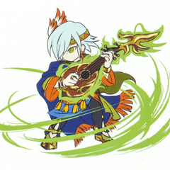 Gilbert's sprite concept artwork.