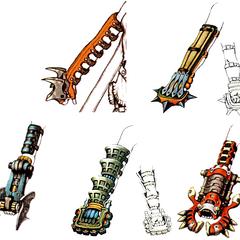 Rikku's Claws.