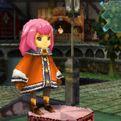 Orange Robe in <i>Final Fantasy Crystal Chronicles: Ring of Fates</i>.