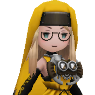 Edea as an Astrologian.