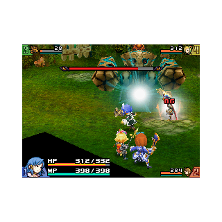 Spark, used in the second fight.