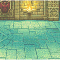 Castle Palamecia's battle background (GBA).