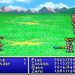 Mythril Spear in <i>Final Fantasy II</i> (GBA).