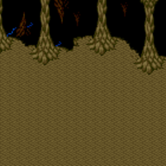Battle background on land (SNES).
