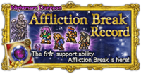 FFRK Affliction Break Record Nightmare