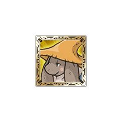 Nu mou Black Mage icon in <i>Final Fantasy Tactics S</i>.
