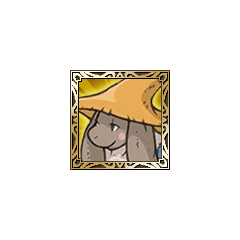 Nu mou Black Mage icon in <i>Final Fantasy Tactics S</i>.