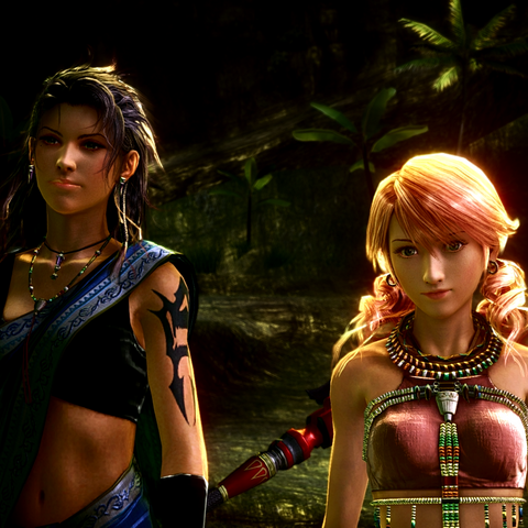 Fang and Vanille appear in Serah's dream.
