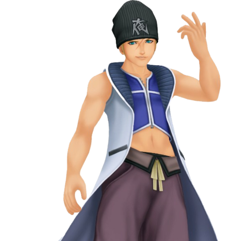 Seifer render in <i>Kingdom Hearts II</i>.