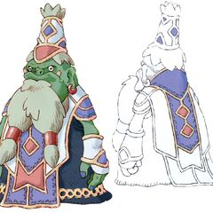 Dwarf chief in <i>Final Fantasy IX</i>.