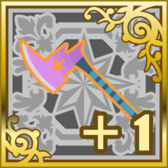 Poison Axe +1 in <i>Final Fantasy Airborne Brigade</i> (SR+).