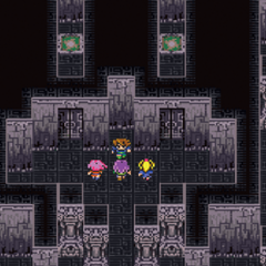 The Japanese dungeon image for <i>Black Fork Tower</i> in <i>Final Fantasy Record Keeper</i>.