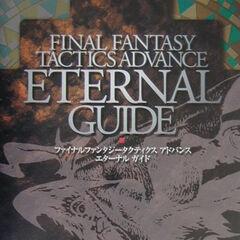 <i>Final Fantasy Tactics Advance Eternal Guide</i> cover.