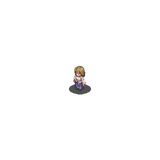 Yuna's <i>Final Fantasy X</i> sprite.