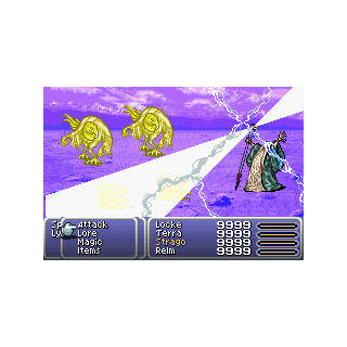 Judgement Bolt (GBA).