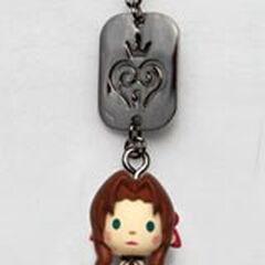 ПОдвеска с Аэрис из <i>Kingdom Hearts</i>.