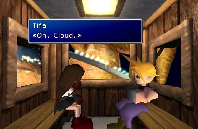 Final fantasy 7 dating game