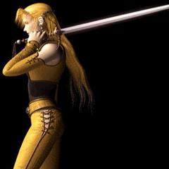 Селес и ее меч.