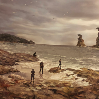 Concept art of what could be a precursor to Angelgard.