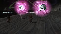 Cursed Sphere Blue Magic from FFXI