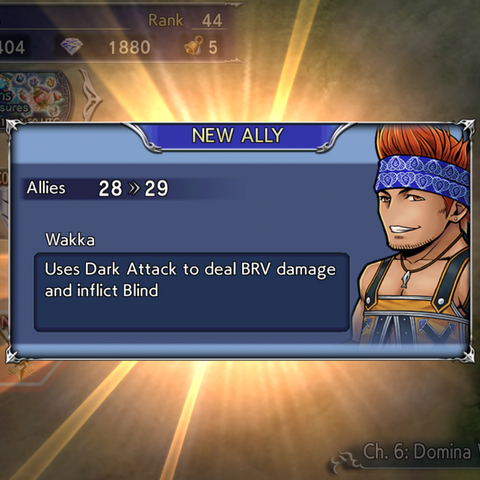 Recruiting Wakka's textbox.