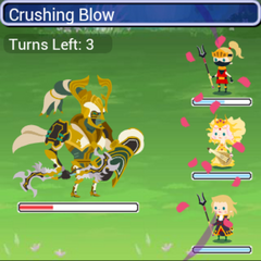 In-game in <i>Final Fantasy Airborne Brigade</i>.
