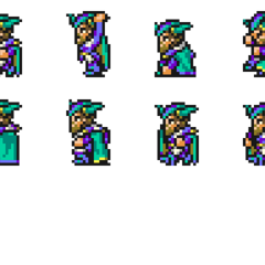 Set of Xezat's sprites.