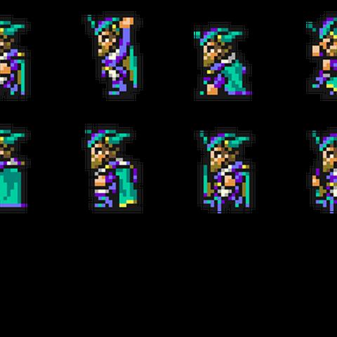 Set of Xezat's sprites.
