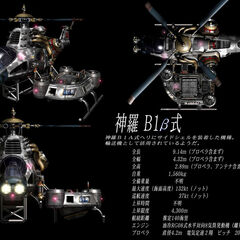Beta Shinra Helicopter.