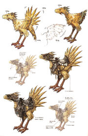 Chocobo artwork