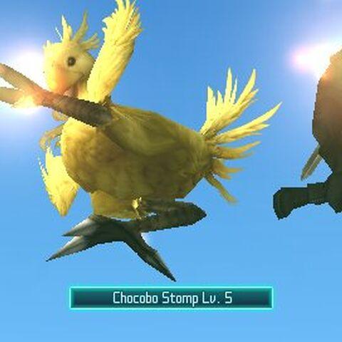 Топот Чокобо в <i>Crisis Core -Final Fantasy VII-</i>.